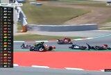 Katalonijos GP: J.Lorenzo sukėlė V.Rossi, A.Dovizioso ir M.Vinaleso avarijas, M.Marquezas šventė pergalę