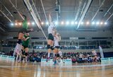 Septynios komandos stoja į kovą Lietuvos moterų tinklinio čempionate
