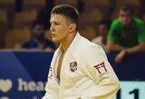 Pasaulio dziudo čempionate K.Vitkauskas pralaimėjo pirmą kovą