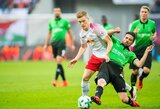 """Vokietijos """"Bundesliga"""": """"RB Leipzig"""" kyla į antrą pirmenybių vietą"""