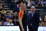 Ž.Obradovičius dėl pralaimėjimo Eurolygos finale kaltino teisėjus