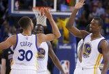 """Gražiausias NBA dienos epizodas – puiki """"Warriors"""" ataka"""