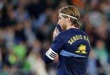 """""""Real"""" kapitonas S.Ramosas siekia aplenkti klubo taisykles derybose dėl naujo kontrakto"""