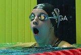 Paskutiniame pasaulio čempionato plaukime krito net du planetos rekordai