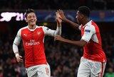 """M.Ozilas pagaliau prabilo, """"Arsenal"""" sutriuškino """"Bournemouth"""""""