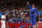Šiaurės Korėjos ir Gruzijos sportininkai triumfavo Olimpiniame dziudo turnyre