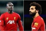 """""""Liverpool"""" 2021-aisiais mėnesiui neteks dviejų komandos žvaigždių"""