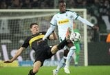 """Užtikrintą pergalę iškovojęs Menchengladbacho """"Borussia"""" klubas Vokietijoje pakilo į antrąją vietą"""