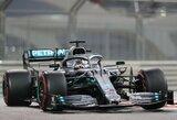 """L.Hamiltonas iškovojo """"pole"""" poziciją, rato nespėjęs pradėti C.Leclercas apkaltino S.Vettelį"""