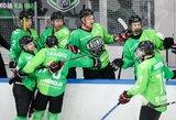 Lietuvos ledo ritulio čempionato apžvalga: lyderių mūšyje – reto grožio įvartis