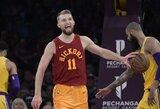 """""""Pacers"""" prezidentas: """"Mes dar nematėme geriausio Sabonio žaidimo"""""""