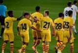 """""""Barcelona"""" draugiškose rungtynėse iškovojo užtikrintą pergalę"""