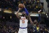 """""""Clippers"""" gavo vieną """"Knicks"""" lyderių ir I.Thomasą"""