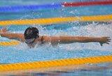 D.Vollmer pagerino pasaulio rekordą ir iškovojo olimpinį aukso medalį
