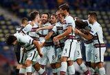 Tautų lyga: Portugalijos, Belgijos ir Prancūzijos rinktinės iškovojo pergales