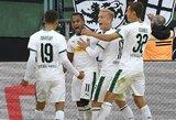 """""""Borussia"""" ir """"Bayer"""" akistatoje - du vienuolikos metrų baudiniai ir šeimininkų pergalė"""