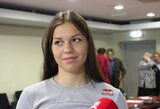 Auksinės irkluotojos D.Vištartaitė ir M.Valčiukaitė neprognozuoja rezultato Europos čempionate