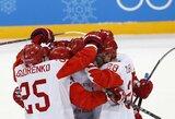 Du įvarčius per 27 sekundes įmušę rusai po 20 metų pertraukos žengė į olimpiados finalą