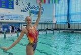 N.Ambrazaitė iš varžybų Ukrainoje grįžo su bronza