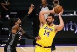 """M.Gasolis liūdi dėl mažėjančio vaidmens """"Lakers"""" klube"""
