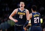 NBA suspendavo N.Jokičių