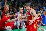 Rusijos rinktinė užbaigė graikų žygį čempionate