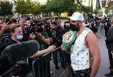 T.Fury ir D.Wilderis atvyko į Las Vegasą ir pasidalino mintimis apie laukiančią kovą