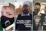 """COVID-19 nesustabdė Vilniaus """"Ryto"""" fanų palaikymo – atributikos prekyba šovė aukštyn"""