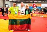 J.Kmieliauskaitė triumfavo Europos jaunių dziudo taurės etape, A.Vasiliauskaitei – sidabras