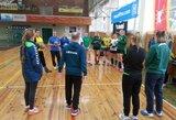 Moterų rankinio rinktinė mes iššūkį rumunėms