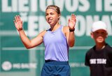 Tarptautiniame teniso turnyre – jaunųjų lietuvių pergalės