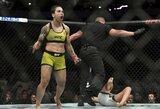 Apie tris čempionės diržus svajojanti J.Andrade paaiškino, kodėl visi ją laiko favorite nugalėti R.Namajunas