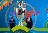 """UEFA prezidentas: """"Tai didžiausia futbolo krizė per visą istoriją"""""""