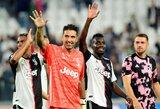"""""""Juventus"""" vartų sargas G.Buffonas pakartojo P.Maldini rekordą"""
