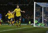 """Ne stipriausia sudėtimi žaidę """"Arsenal"""" įveikė """"Portsmouth"""" barjerą FA taurėje"""