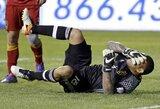 MLS lygoje vartininkas savo komandą nuo įvarčio išgelbėjo veidu
