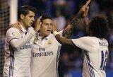 """""""Real"""" klubas išvykoje išsiliejo ant """"Deportivo"""" ekipos"""