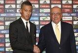 """K.Honda: """"Širdis man pasakė atvykti į """"Milan"""""""