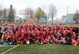 Pirmoji Lietuvos amerikietiško futbolo ekipa startuoja tarptautiniame turnyre