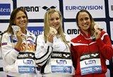 Revanšas pavyko: R.Meilutytė po dramatiško finišo aplenkė J.Jefimovą ir laimėjo antrą aukso medalį!