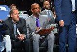 """""""Lakers"""" dėl trenerio darbo kalbėsis su """"76ers"""" asistentu"""