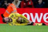 """""""Arsenal"""" gali lengviau atsikvėpti: paaiškėjo S.Mustafi būklė"""