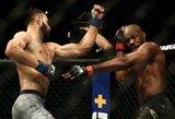 UFC rekordą pagerinęs J.Jonesas turėjo daug problemų su D.Reyesu, tačiau įtikino teisėjus, kad buvo geresnis