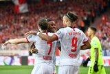 """Sezoną Vokietijoje pradėję """"Leipzig"""" startavo rezultatyvia pergale Berlyne"""