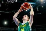 Dėl vieno žaidėjo traumos paaiškėjo Lietuvos rinktinės sudėtis su lenkais ir vengrais