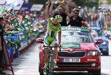 """Nuo visų varžovų atitrūkęs A.de Marchi – septintojo """"Vuelta a Espana"""" dviračių lenktynių etapo nugalėtojas"""