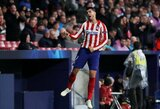 """Čempionų lyga: auksiniu keitimu tapęs A.Morata užtikrino """"Atletico"""" pergalę"""