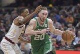 """""""Celtics"""" žvaigždei lūžo ranka"""