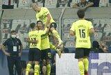 """""""Borussia"""" komanda pergalingai startavo Čempionų lygoje, """"Sheriff"""" sukūrė istoriją"""