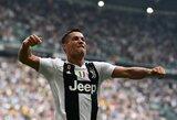 """C.Ronaldo pagaliau prabilo įvarčiais, o """"Juventus"""" įveikė """"Sassuolo"""""""